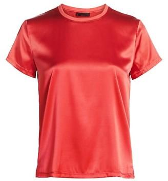 ATM Anthony Thomas Melillo Silk Blend Crewneck T-Shirt