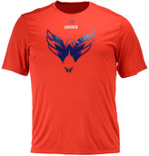 Majestic Men's Washington Capitals Solid Win Synthetic T-Shirt