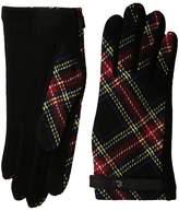 Lauren Ralph Lauren Tartan RLL Monogram Touch Glove Dress Gloves