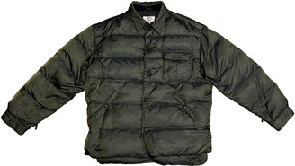 Armani Jeans Green Polyester Coats