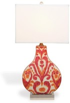 The Well Appointed House Greystone Coral Porcelain Scalamandre Table Lamp