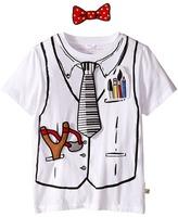 Stella McCartney Arlo Short Sleeve Hook-and-Loop Doctor Tee with Badges Kid's T Shirt