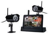 A.L.C. AWS3266 Connected Touch Screen Wireless Surveillance System - Black