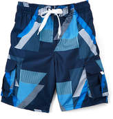 Kanu Surf Navy Voltage Geo Boardshorts - Boys