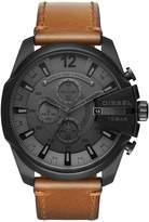 Diesel Diesel Mega Chief Tan Leather Strap Men's Watch