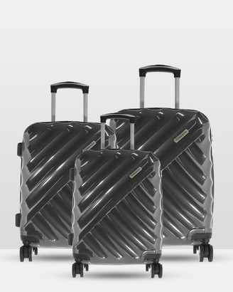 Cobb & Co Bendigo Polycarbonate Luggage 3 Piece Set