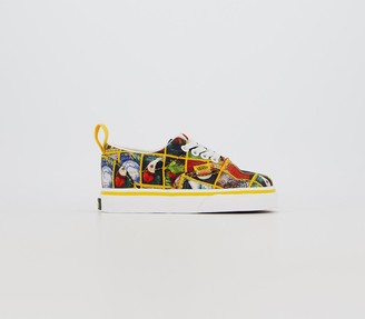 Vans Era Toddlers Trainers Multi True White National Geographic