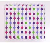Bacati Botanical Purple Pearl Crib Sheet