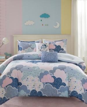 Urban Habitat Kids Cloud 4-Pc. Printed Twin/Twin Xl Duvet Cover Set Bedding