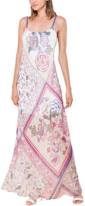 Hale Bob Silk-Blend Maxi Dress