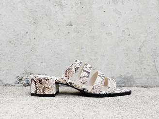 Freda Salvador INGRID Square Toe Strappy Mid Heel