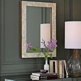 west elm Parsons Small Wall Mirror - Bone Inlay