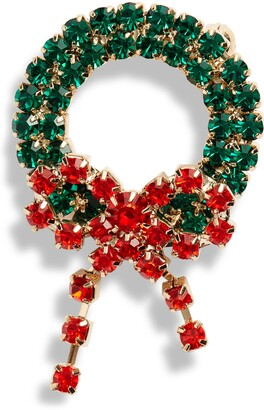 CRISTABELLE Classic Wreath Pin