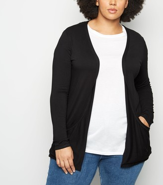 New Look Curves Jersey Cardigan