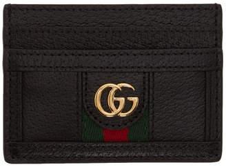 Gucci Black Ophidia Card Holder