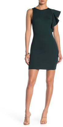 Max & Ash Flutter Sleeve Bodycon Dress