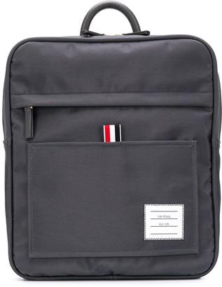 Thom Browne Zip-top Nylon Book Bag