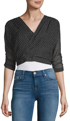 Lucca Couture Dotted Top