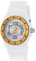 Technomarine Women's 'Cruise Jellyfish' Swiss Quartz Stainless Steel and Silicone Casual Watch, Color:White (Model: TM-115129)