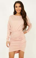Showpo Remembering You dress in blush - 8 (S) Sale Dresses