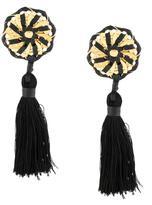 DSQUARED2 spiral tassel earrings