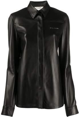 Alyx leather long sleeve shirt