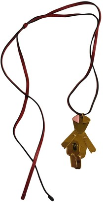 Marni Gold Metal Necklaces
