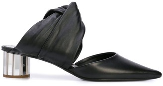 Proenza Schouler Twist Block Heel Mules