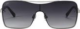 Web Sunglasses Shield Smoke Mirror Sunglasses