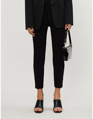Pinko Bello tapered jersey trousers