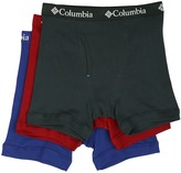 Columbia 100% Cotton Boxer Briefs 3-Pack