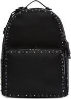 Valentino Black Stone and Rockstud Backpack