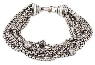 David Yurman Diamond Multistrand Bracelet