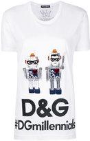 Dolce & Gabbana robot designer's patch T-shirt