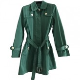 Fay Green Trench Coat for Women