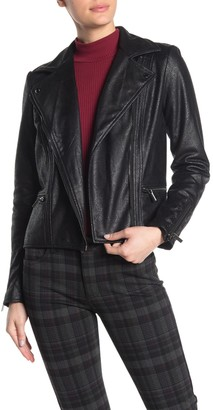 KUT from the Kloth Eveline Faux Leather Moto Jacket