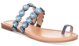 Thalia Sodi Joya Toe-Ring Flat Sandals, Created for Macy's Women's Shoes