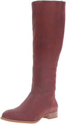 Nine West Women's Nicolah Leather Knee-High Boot