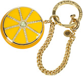 Marc by Marc Jacobs Yellow Sliced Lemon Fruit Bag Charms