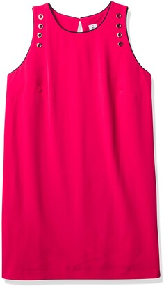 Julia Jordan Women's Plus Size Grommit Detail Dress