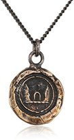 Pyrrha Unisex Bronze Luck and Protection Talisman Necklace