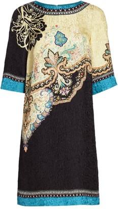 Etro Mattelasse T-Shirt Dress