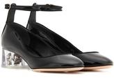 Alexander McQueen Patent leather pumps