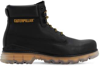 Caterpillar Replicate M Leather Lace-up Boots