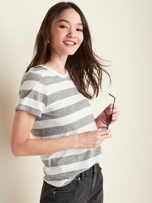 Old Navy EveryWear Striped Crew-Neck Tee for Women