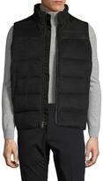Hart Schaffner Marx Wool Quilted Puffer Vest
