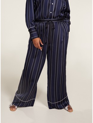 Tommy Hilfiger Curve Nautical Striped Trousers