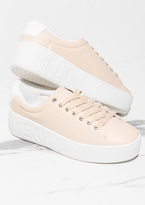 Missy Empire Mable Nude Slogan Platform Trainers
