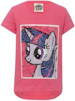 M&Co My Little Pony two way sequin character t-shirt