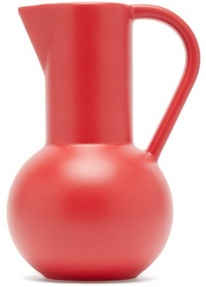 Raawii - Strm Large Ceramic Jug - Red